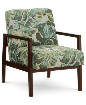 Nari Printed Accent Chair