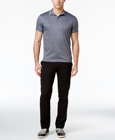 Alfani Knit Essentials Polo and Pant, Created for Macy's