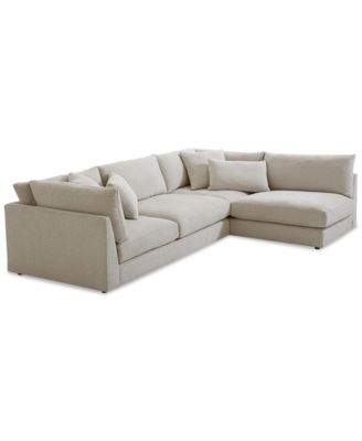 Rojah Fabric 2-Pc. Sectional Sofa  sc 1 st  Macyu0027s : crypton sectional - Sectionals, Sofas & Couches