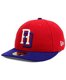 New Era Dominican Republic 2017 World Basball Classic 59FIFTY Cap
