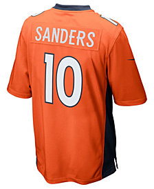 Nike Emmanuel Sanders Denver Broncos Game Jersey, Big Boys (8-20)