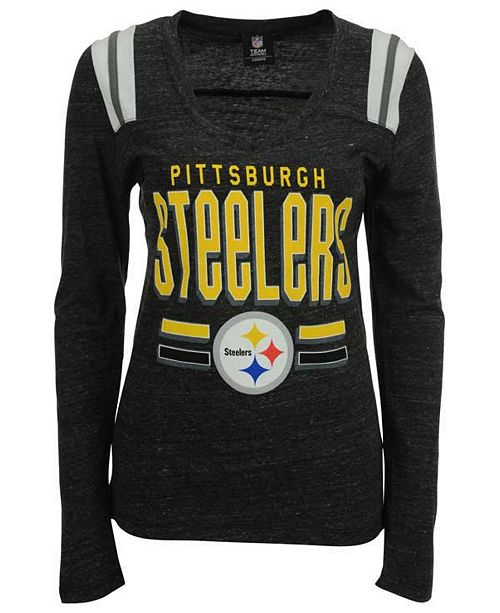 Women s Pittsburgh Steelers Free Kick Long-Sleeve T-Shirt. Be the first to  Write a Review. main image  main image ... 3181470c8