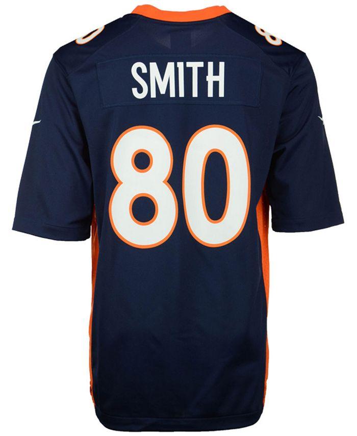 Men's Rod Smith Denver Broncos Retired Game Jersey