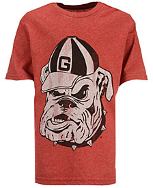 Retro Brand Georgia Bulldogs Mock Twist T-Shirt, Big Boys (8-20)
