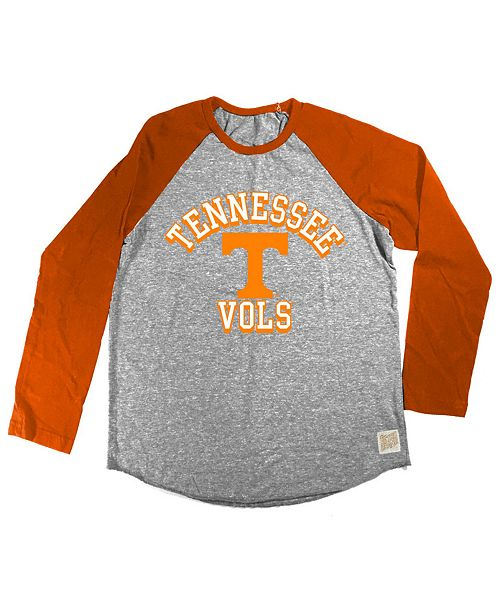 Retro Brand Tennessee Volunteers Raglan Long Sleeve T-Shirt, Big Boys (8-20)
