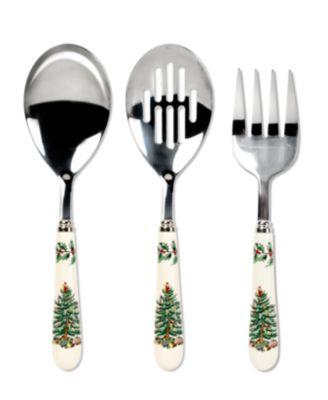 Serveware, Christmas Tree 3 Piece Serving Set