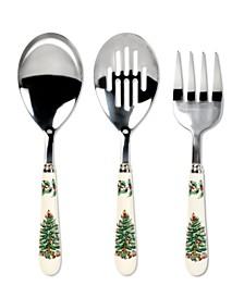Spode Christmas Tree 3 Piece Serving Set