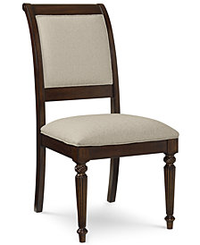 Syrah Upholstered Back Side Chair