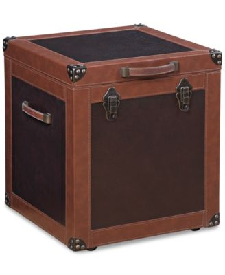 CLOSEOUT! Voyager Storage Trunk End Table, Created for Macy's