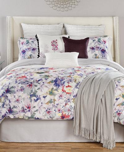 CLOSEOUT! Theodora Reversible 10-Piece Full Comforter Set