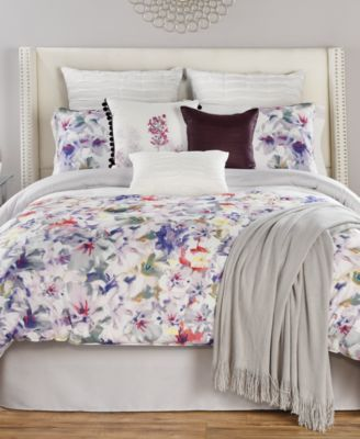 Bring Any Room Into Full Bloom With The Brightly Colored Floral Prints Of  These Theodora Reversible Comforter Sets. Containing Coordinating  Decorative ...
