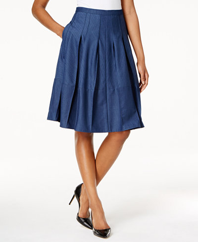 Tommy Hilfiger Denim A-Line Skirt - Women - Macy's
