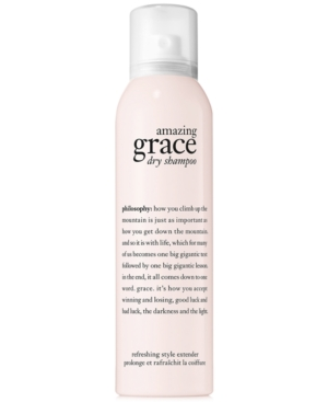 philosophy amazing grace dry shampoo, 4.3 oz