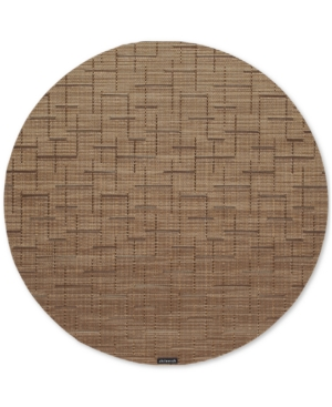 Chilewich Bamboo Woven Vinyl Round Placemat