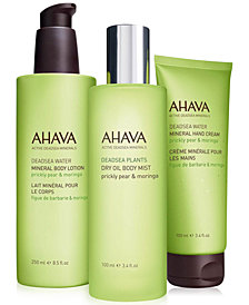 Ahava Prickly Pear & Moringa Collection