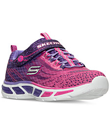 Skechers Big Girls'  Preschool S Lights: Litebeams Athletic Sneakers from Finish Line