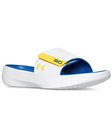 Under Armour Men's Curry 3 Slide Sandals from Finish Line