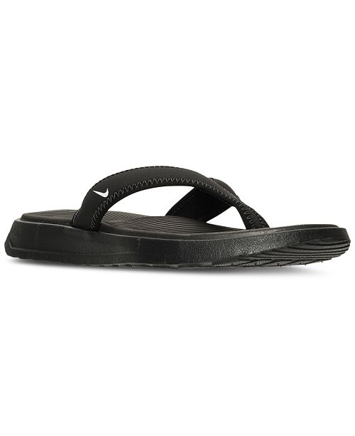 a7598b19542 Nike Men s Ultra Celso Thong Sandals from Finish Line   Reviews ...