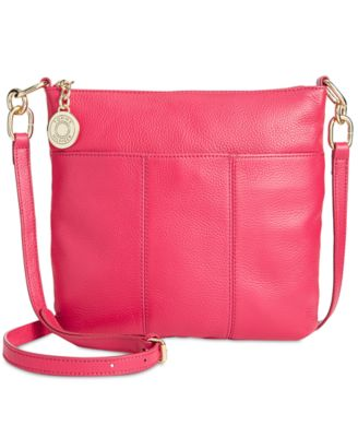 Image of Tommy Hilfiger TH Signature Pebble Leather Crossbody