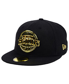 New Era Detroit Pistons Current O'Gold 59FIFTY Cap