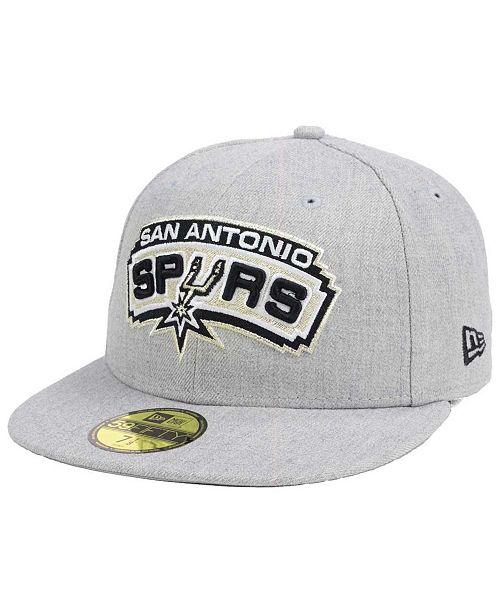 New Era San Antonio Spurs All Heather 59FIFTY Cap