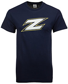J America Men's Akron Zips Big Logo T-Shirt