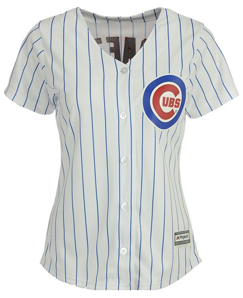 163c0d3f0 Majestic Women s Javier Baez Chicago Cubs Cool Base Player Replica Jersey  ...