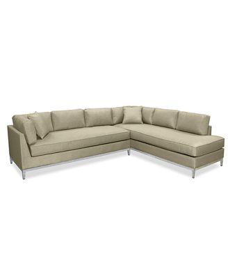 CLOSEOUT Sutton Place Outdoor 2 Pc Seating Set 1 Sofa & 1