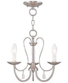 Livex Mirabella 3- Light Metal Chandelier