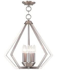 Livex Prism 5- Light Metal Pendant