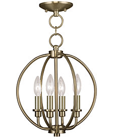Livex Milania 4- Light Metal Pendant