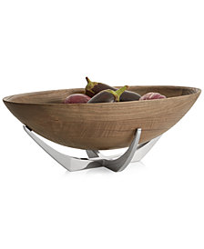 Nambé Cabo Collection Oval Serving Bowl