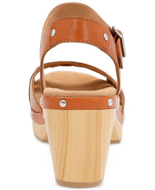 9acbd35934d Clarks Women s Ledella Trail Platform Sandals   Reviews - Sandals ...
