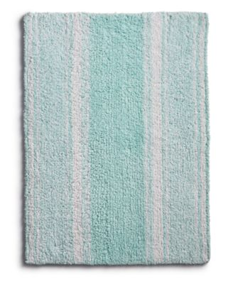 """LAST ACT! Cotton Reversible 27"""" x 45"""" Bath Rug, Created for Macy's"""