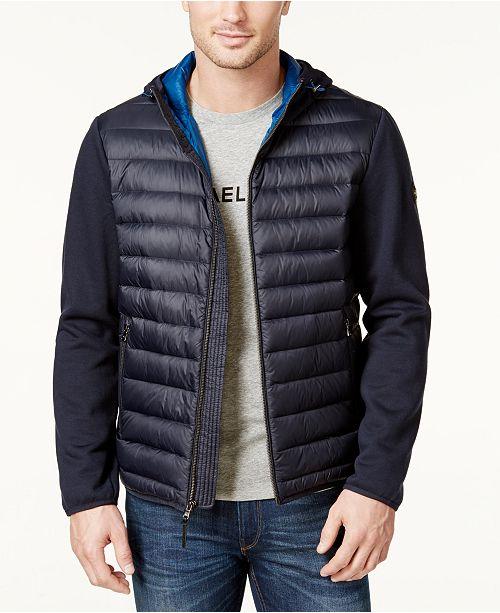 dca3f911e Michael Kors Michael Kors Men's Packable Hooded Quilted Jacket ...