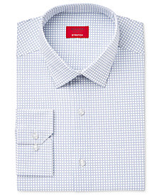 Alfani Men's Slim-Fit Stretch Assorted Print Dress Shirts, Created for Macy's