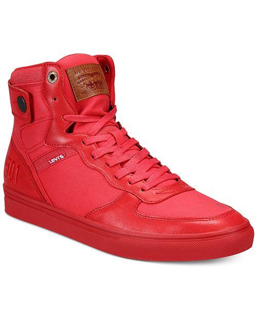 027c0ad6 Levi's Men's Jeffrey Hi 501 Sneaker & Reviews - All Men's Shoes ...