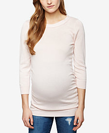 A Pea In The Pod Maternity Boat-Neck Sweater