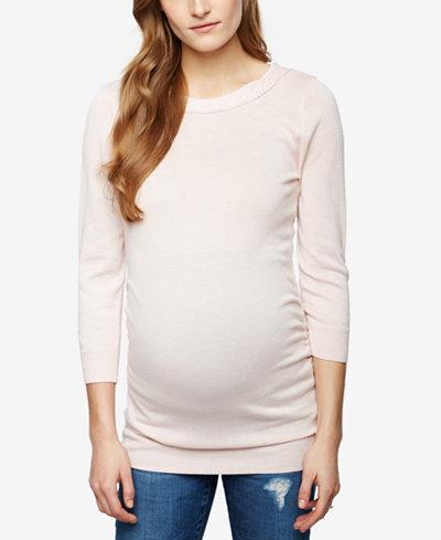 A Pea In The Pod Maternity Boat-Neck Sweater