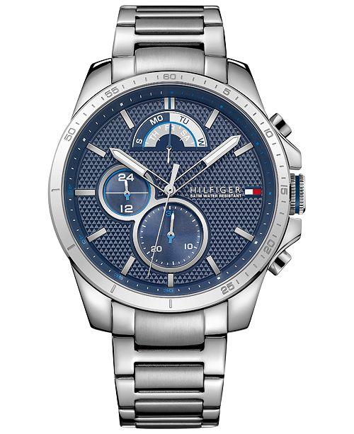 7e2cb8b7 ... Tommy Hilfiger Men's Sport Stainless Steel Bracelet Watch 40mm 1791348  ...