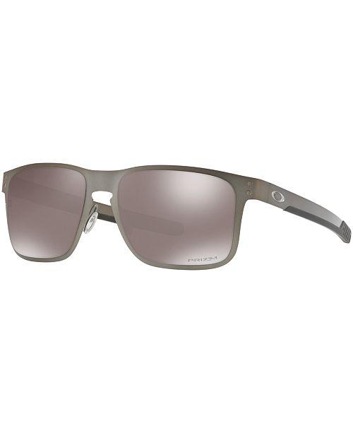 3a544de5172df Oakley Polarized Holbrook Metal Prizm Black Sunglasses, OO4123 55 ...