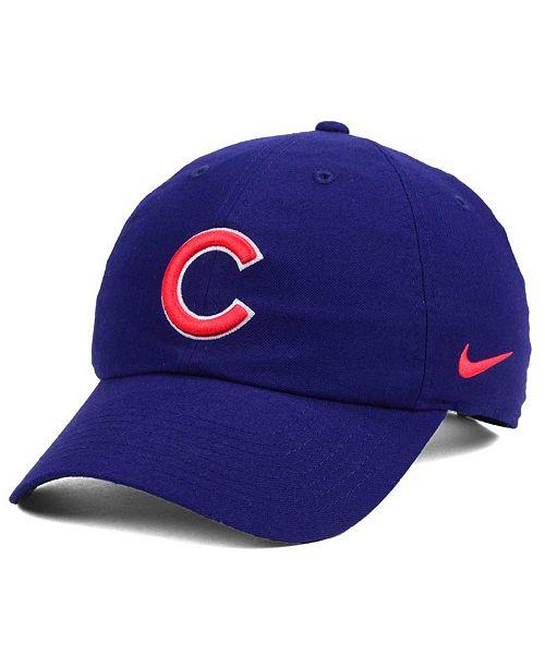 661abd109df Nike Chicago Cubs Dri-FIT H86 Stadium Cap - Sports Fan Shop By Lids ...