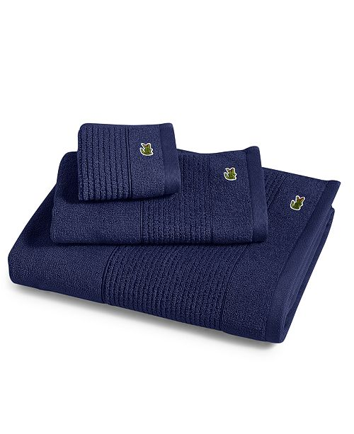 "Lacoste Towels Clearance: Lacoste Legend 16"" X 30"" Supima Cotton Hand Towel"