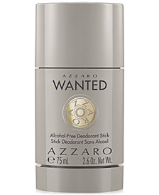 Azzaro Men's Wanted Deodorant, 2.6 oz.
