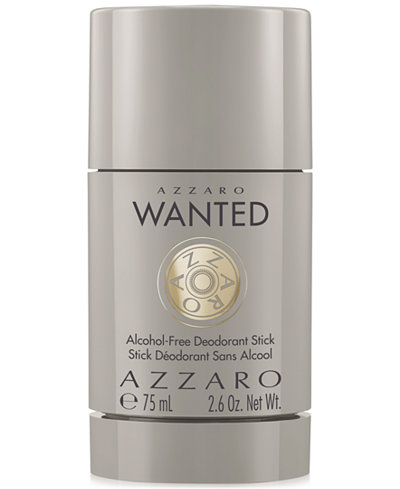 Azzaro Men's Wanted Deodorant, 2.6 oz.