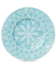 Viva by Vietri  Lace Collection Salad Plate