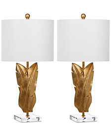 Safavieh Set of 2 Aerin Wings Table Lamps