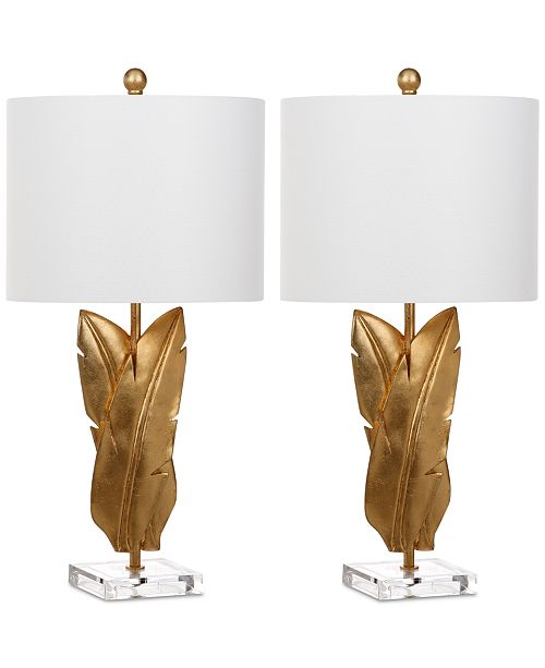 Safavieh Set of 2 Aerin Wings Table Lamps