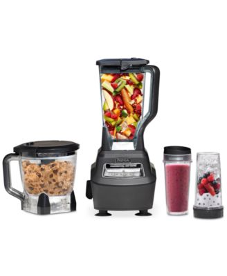 ninja bl770 blender food processor mega kitchen system small rh macys com Ninja Kitchen System 1200 Recipes ninja bl770 blender & food processor mega kitchen system 1500w