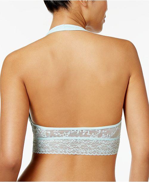 910048e15e ... Calvin Klein Bare Lace Halter Bralette QF4044